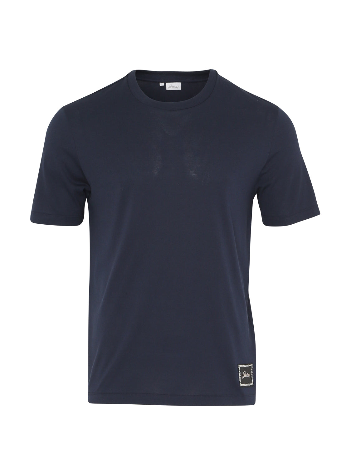 Brioni Cotton T-Shirt (Navy) - Union 22
