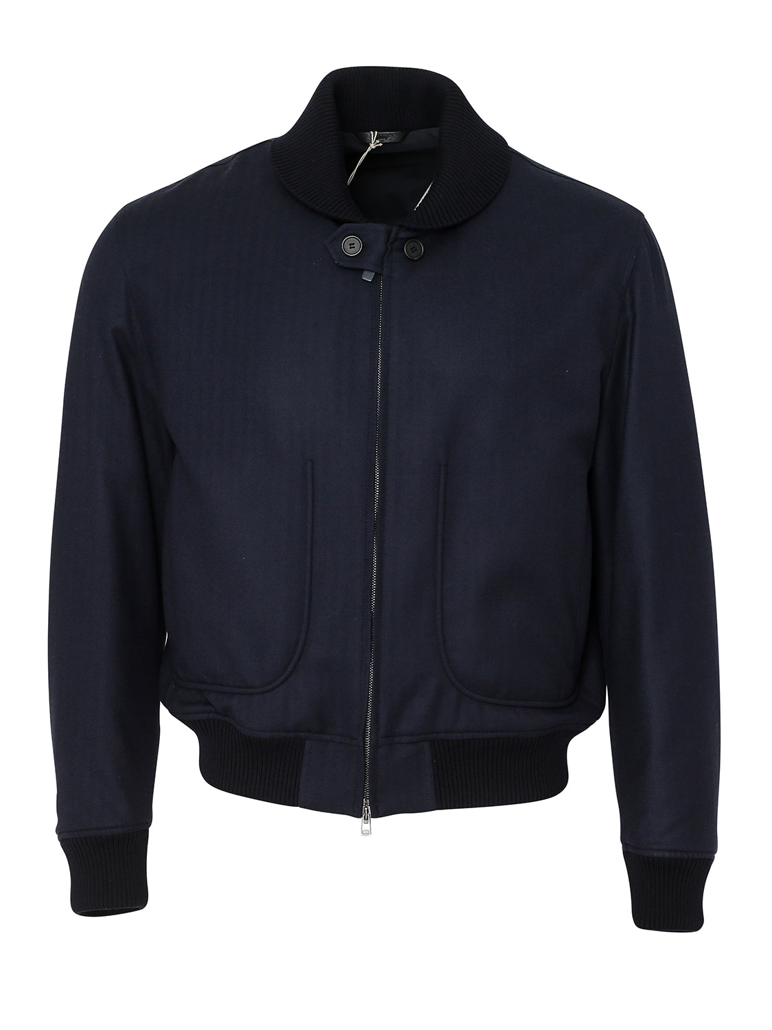 Brioni Herringbone Bomber (Midnight Blue) - Union 22