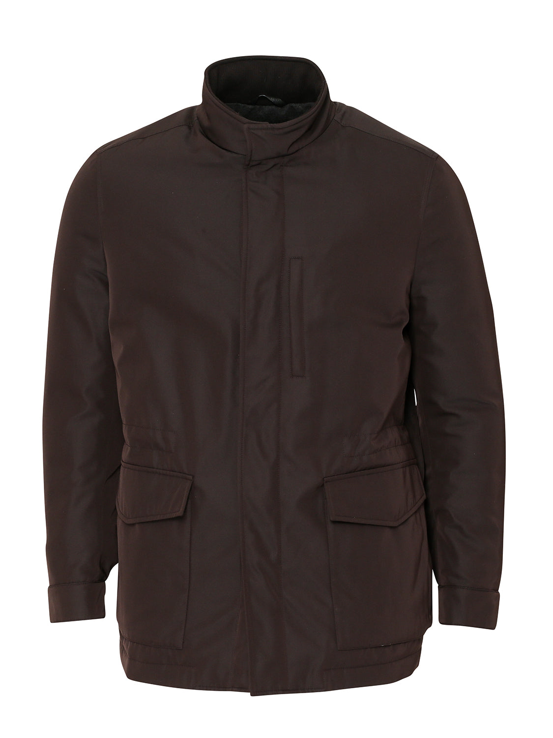 Brioni Coat (Brown) - Union 22