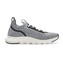 Z Zegna Techmerino™ Sock 2.0 Slip On Sneaker (Grey) - Union 22