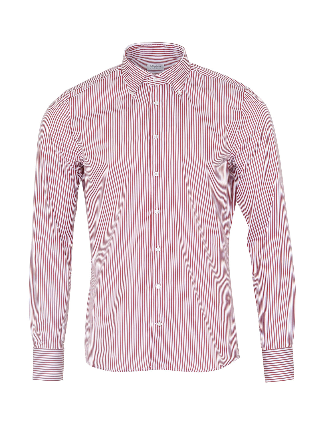 Stenstroms Buttoned Collar Shirt (Red) - Union 22