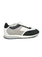 Santoni Contrast Trainer (White / Navy) - Union 22