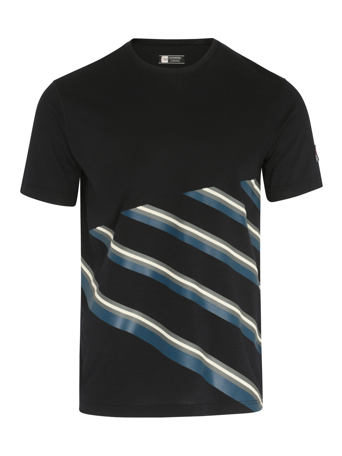 Z Zegna TECHMERINO™ T-Shirt (Navy) - Union 22