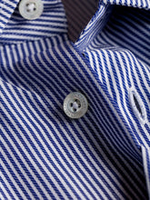 Corneliani Shirt (Blue Chalk Stripe) - Union 22