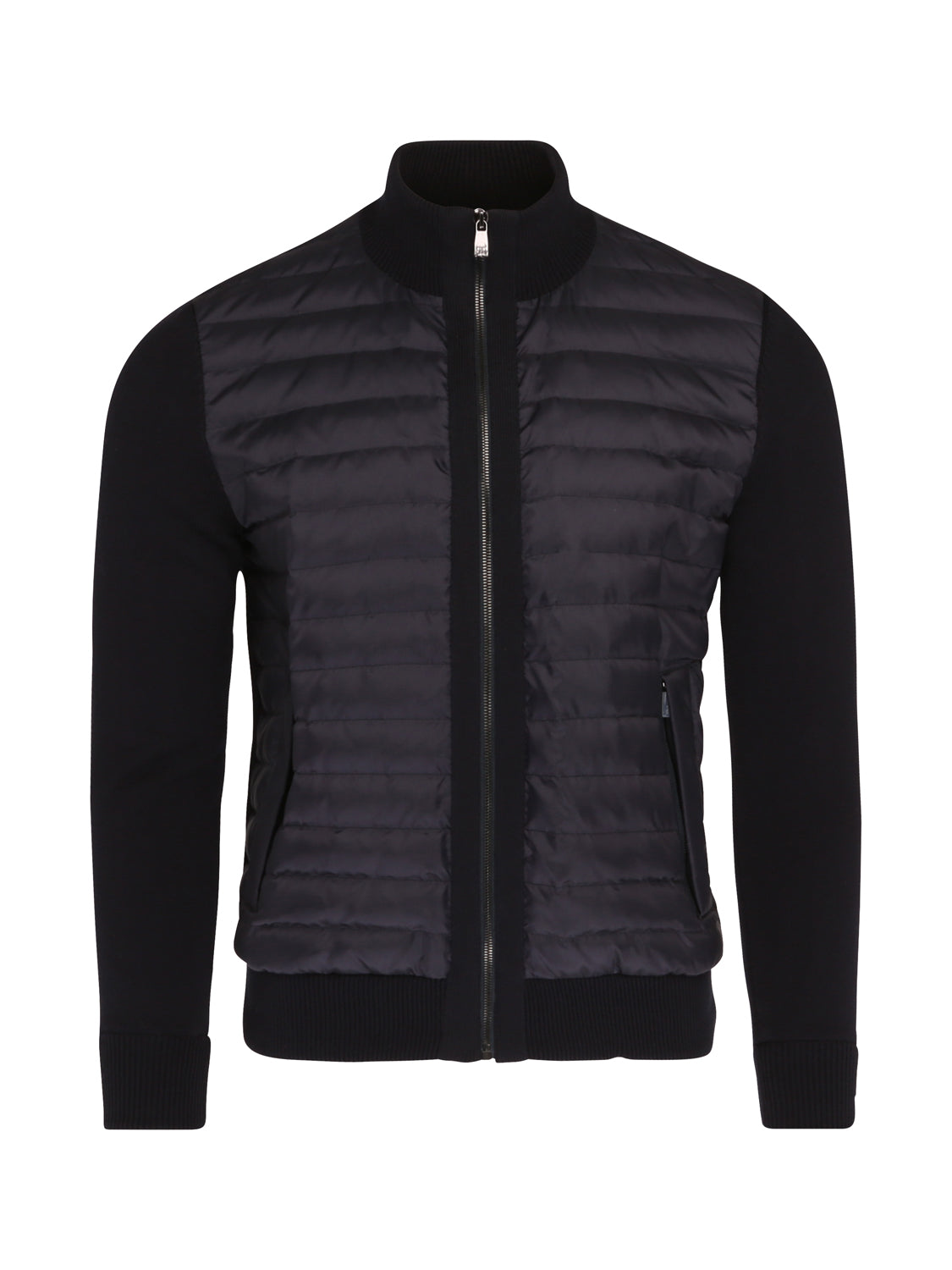 Corneliani Quilted Bomber (Navy) - Union 22