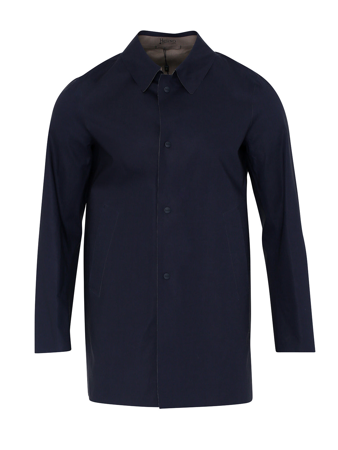 Herno Reversible Mac (Navy/ Taupe) - Union 22