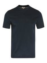 Canali Mercerised T-Shirt (Navy) - Union 22