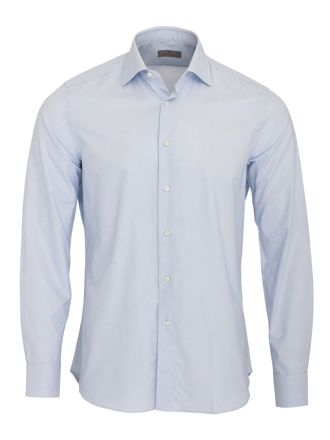 Canali Textured Shirt (Blue) - Union 22