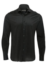 Corneliani Casual Mercerised Shirt (Dark Grey) - Union 22