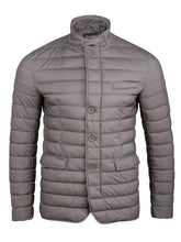 Herno Legend Storm Collar Quilted Jacket (Grey)