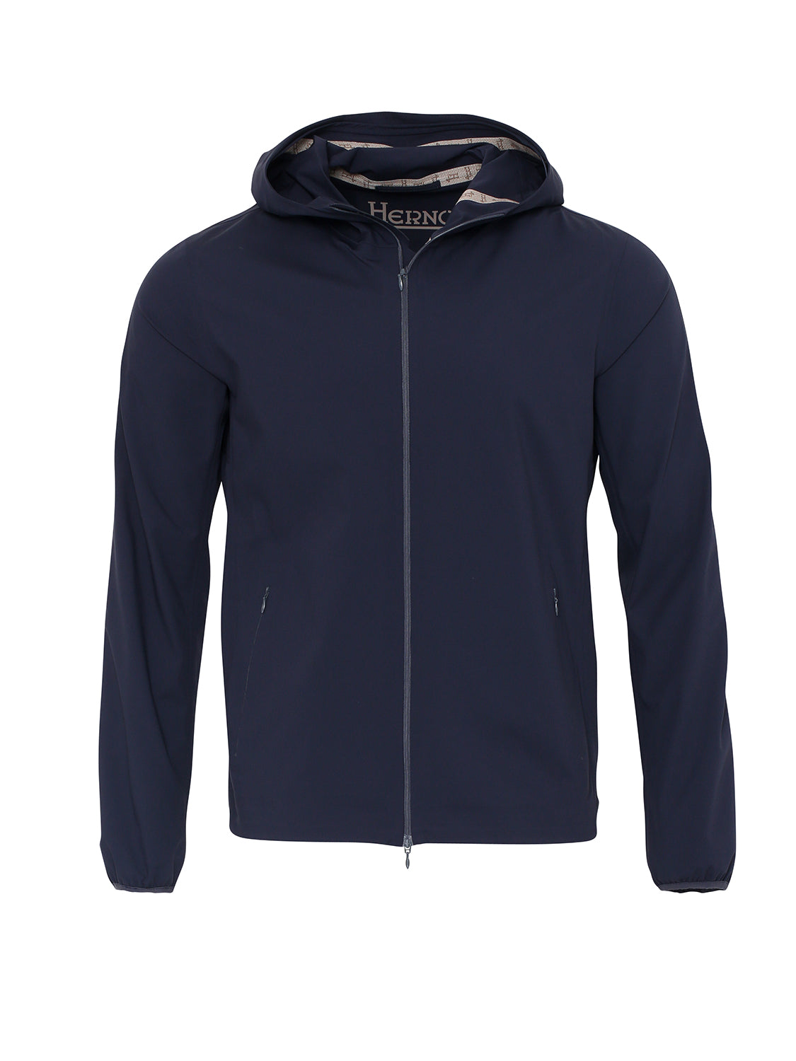 Herno Hooded Light Weight Jacket (Navy) - Union 22