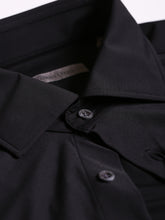 Corneliani Stretch Fabric Shirt (Black) - Union 22