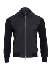 Z Zegna TECHMERINO™ Hooded Bomber Jacket (Dark Blue) - Union 22