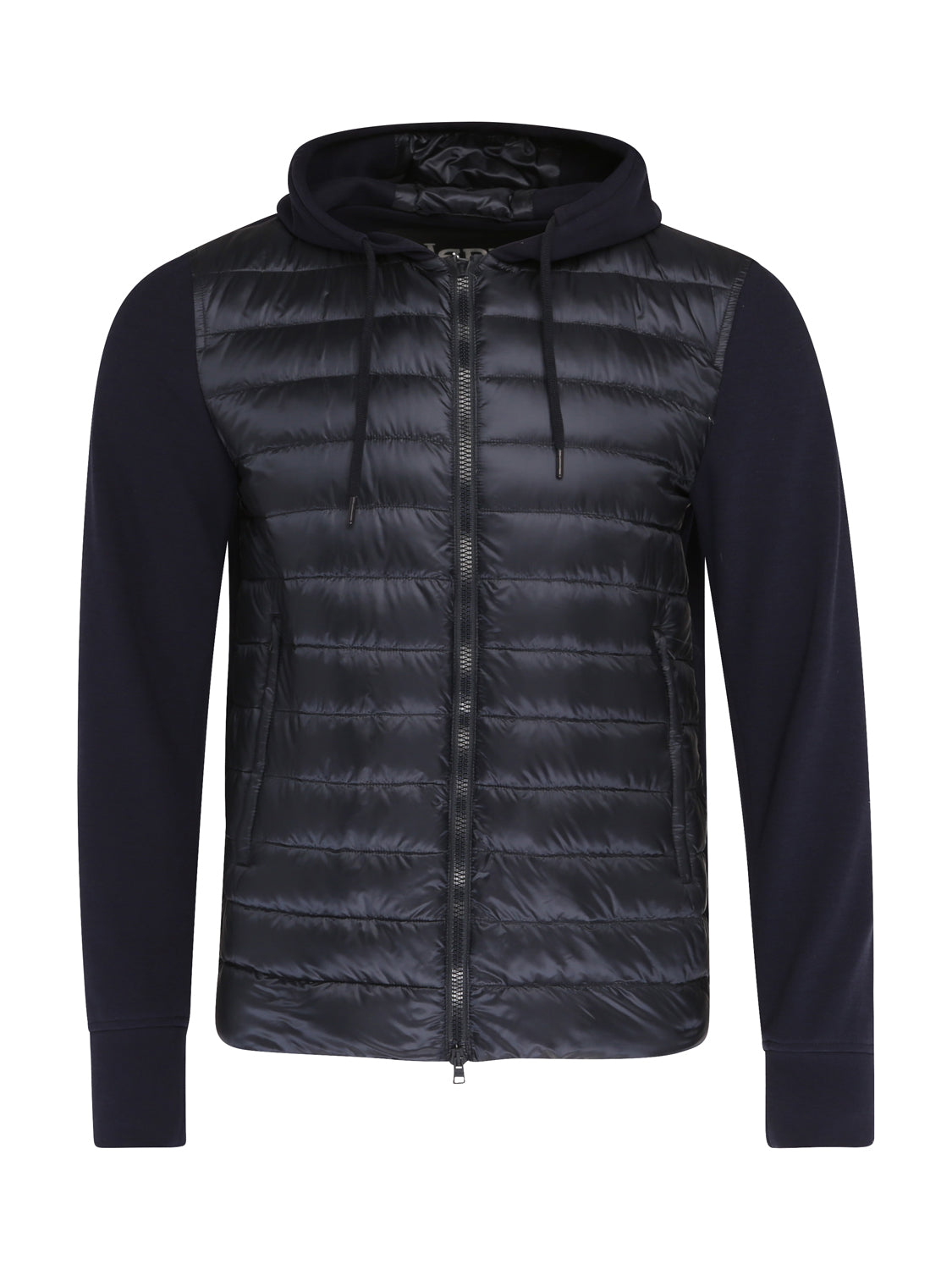 Herno Quilted Hoody (Navy) - Union 22