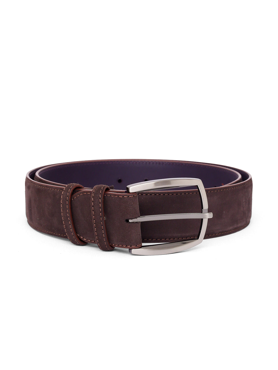 Elliot Rhodes Suede Belt (Brown) - Union 22
