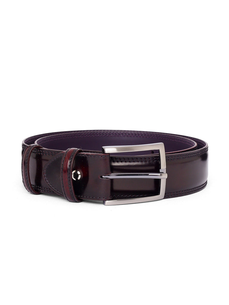 Elliot Rhodes Cordovan Leather Belt (Mahogany) - Union 22