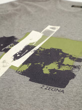 Z Zegna Print T-Shirt (Mid Grey) - Union 22