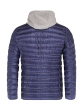 Herno Quilted Blazer (Navy / Grey) - Union 22