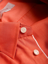 ETON Poplin Micro Check Shirt (Orange)