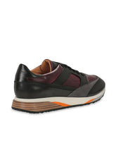 Santoni Dress Trainer (Maroon) - Union 22