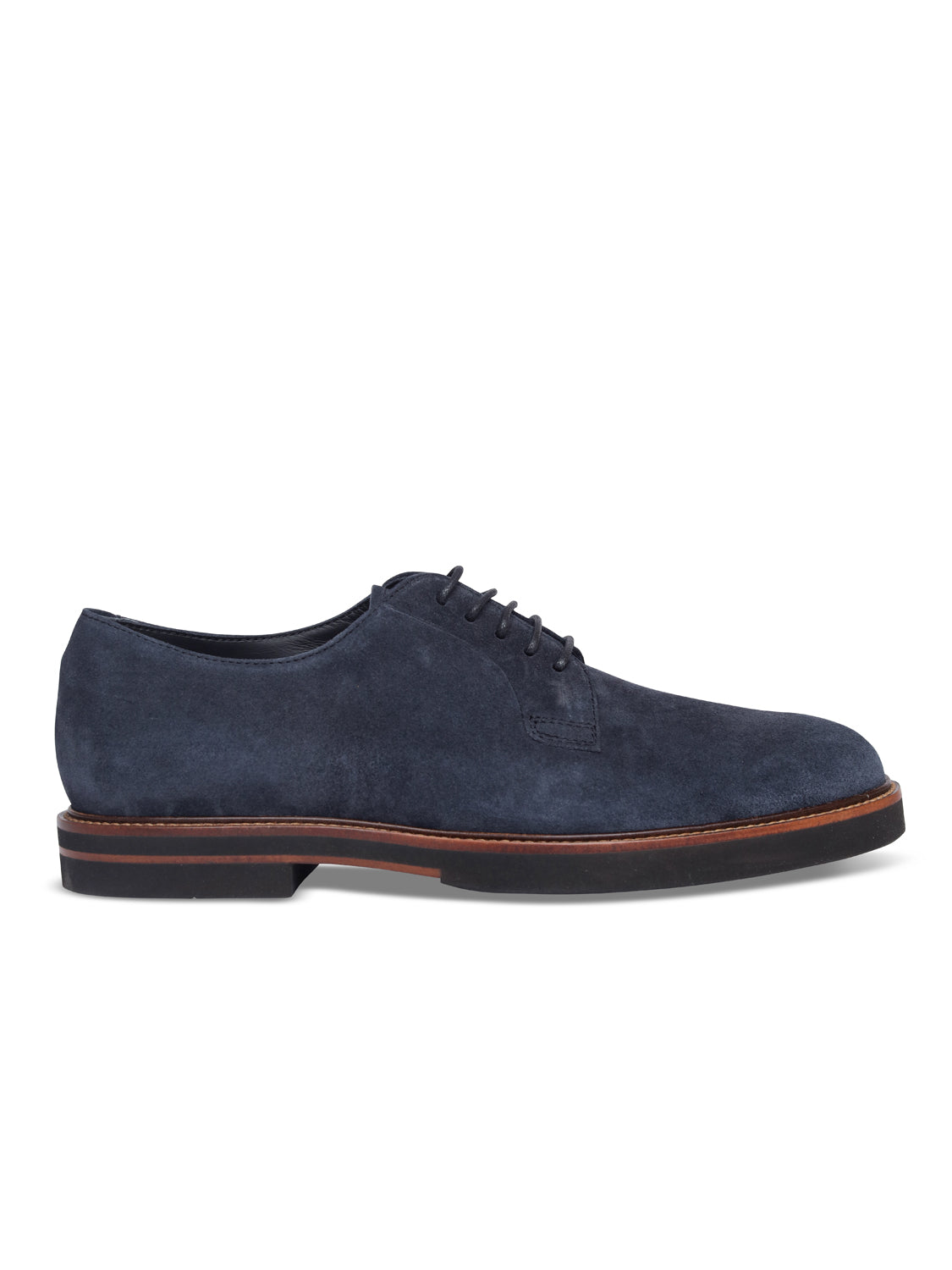TOD'S Classic Suede Derby (Navy) - Union 22
