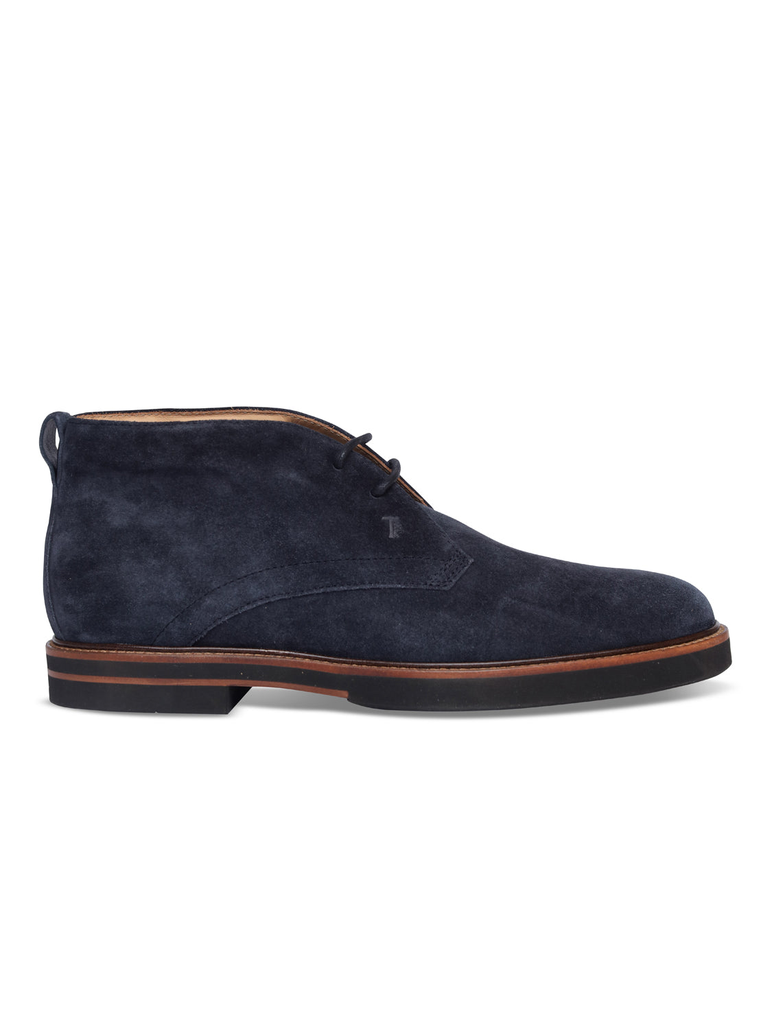 TOD'S Ankle Suede Boot (Navy) - Union 22