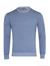 Corneliani Virgin Wool Jumper (Blue) - Union 22