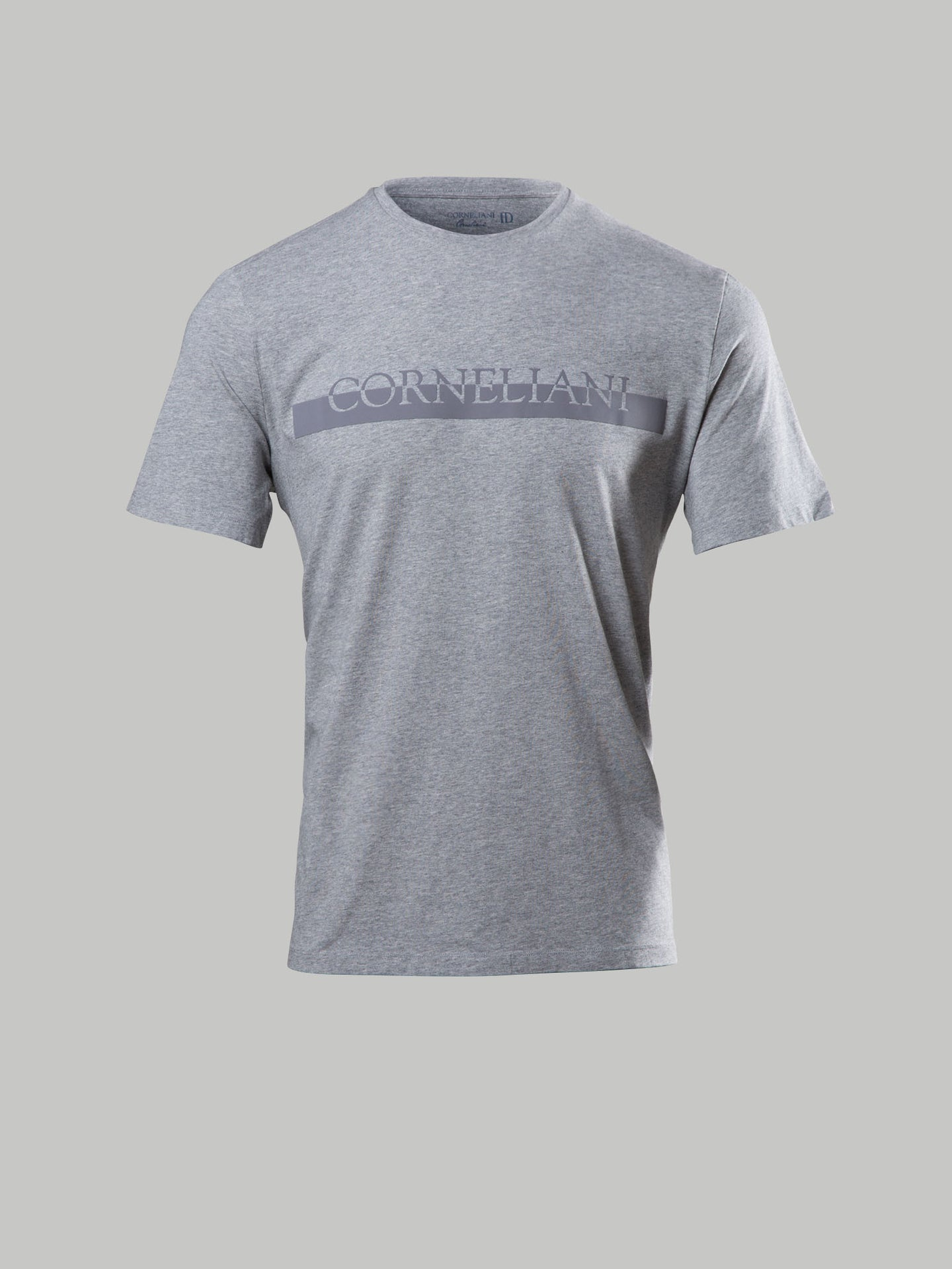 Corneliani Branded T-Shirt (Grey)