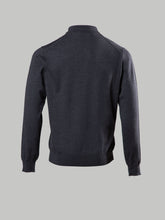 Corneliani Long Sleeve Polo (Grey)