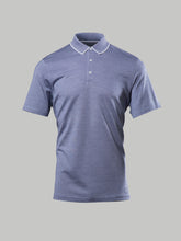 Corneliani Contrast Collar Polo (Navy) - Union 22