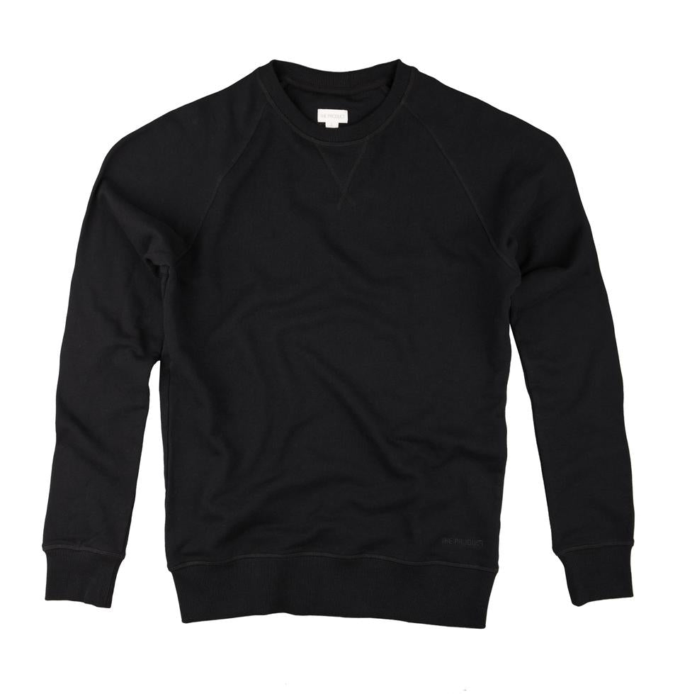 The Product Crew Neck Sweater (Black) - Union 22