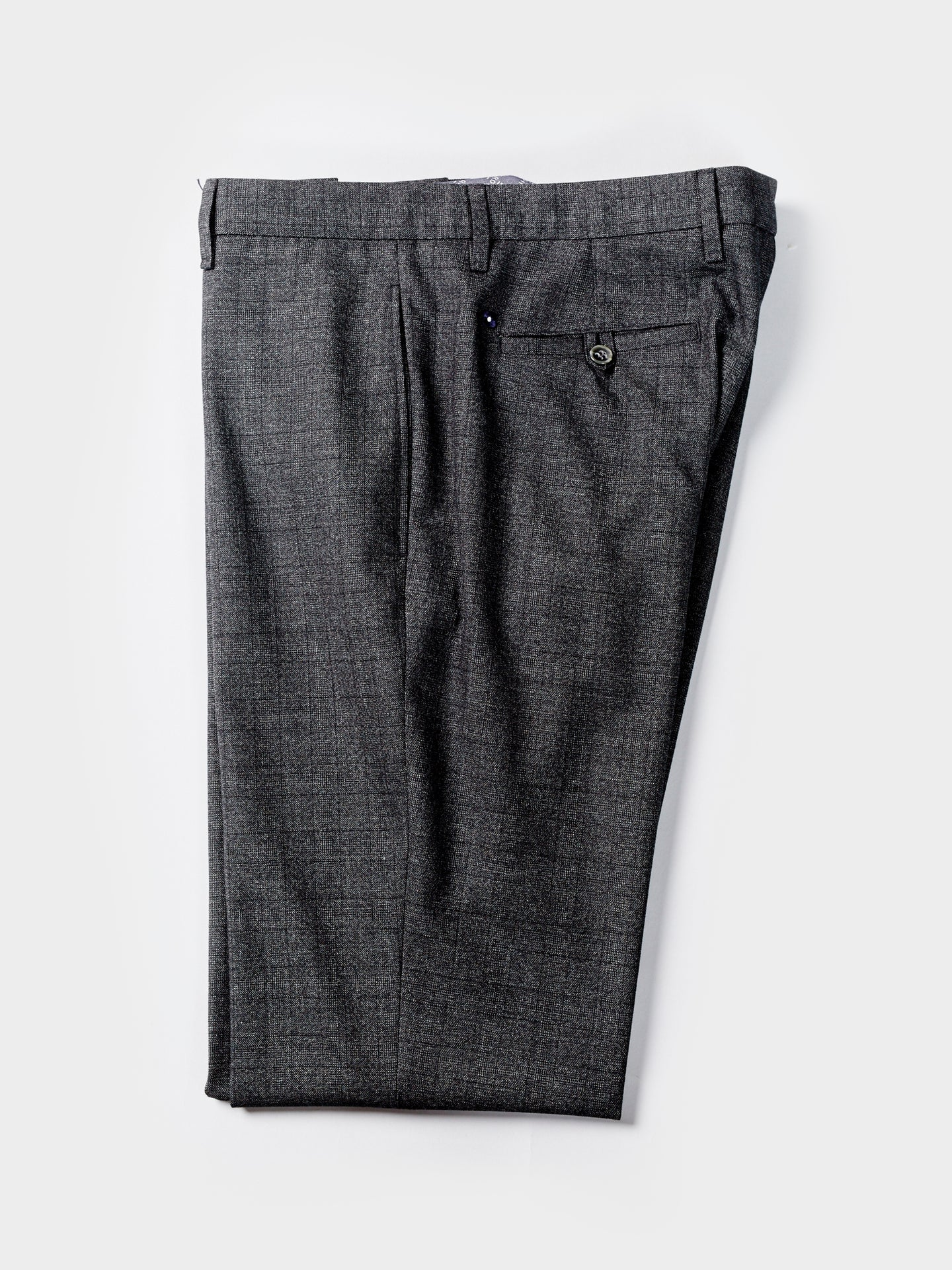 Lardini Trouser (Grey Check)