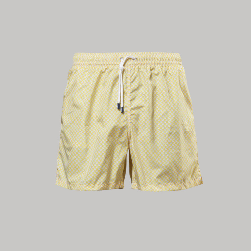Fedeli Madeira Swimshorts Ladybird (Yellow) - Union 22