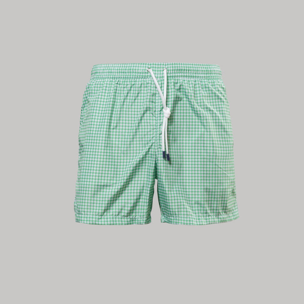 Fedeli Madeira Swimshorts Diamonds (Lime green)