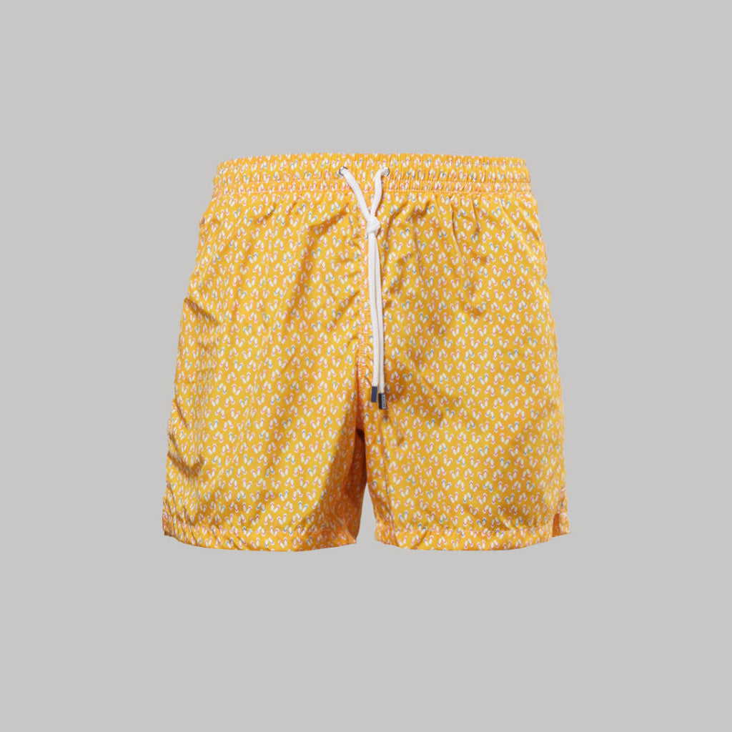 Fedeli Madeira Swimshorts Flip (Yellow) - Union 22