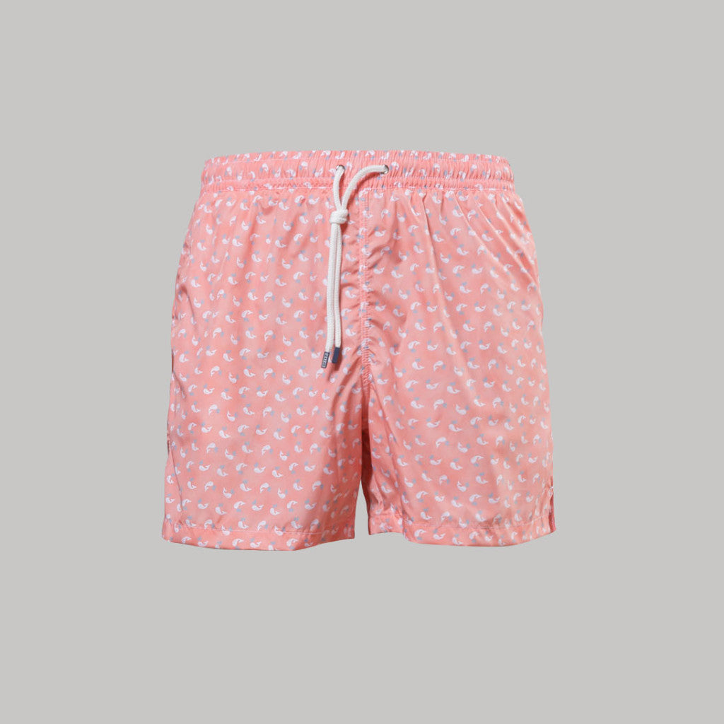Fedeli Madeira Swimshorts Moby (Peach) - Union 22