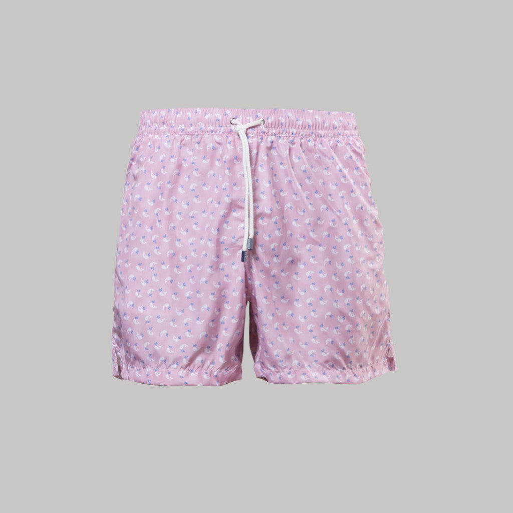 Fedeli Madeira Swimshorts Moby (Pink) - Union 22