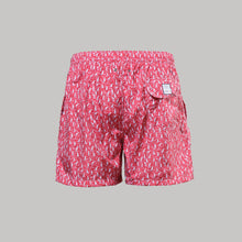 Fedeli Madeira Swimshorts Sails (Red)
