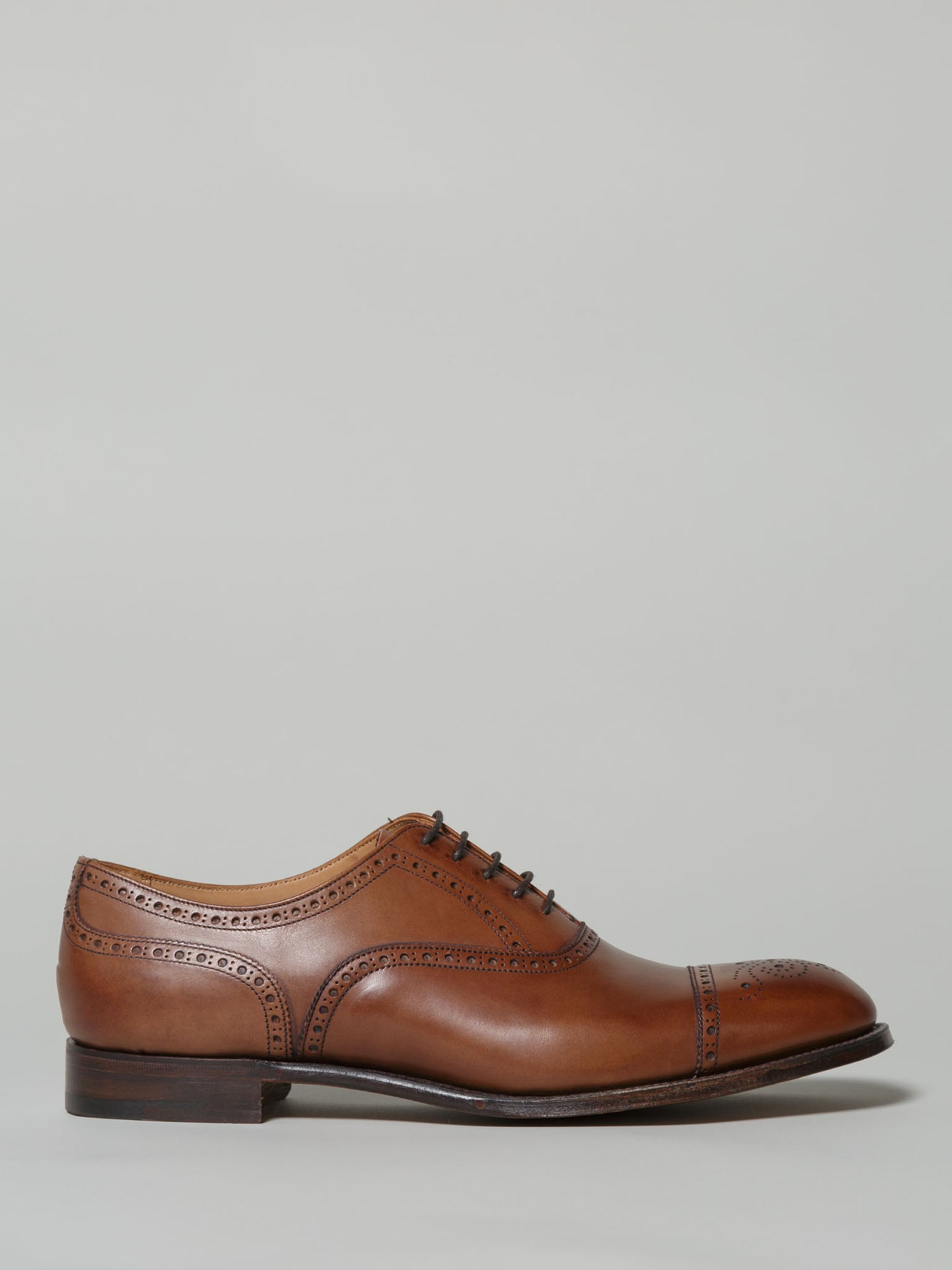 Cheaney Wilfred Brogue Tan (Leather)
