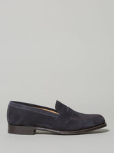 Cheaney Cannon Navy Loafer (Suede) - Union 22