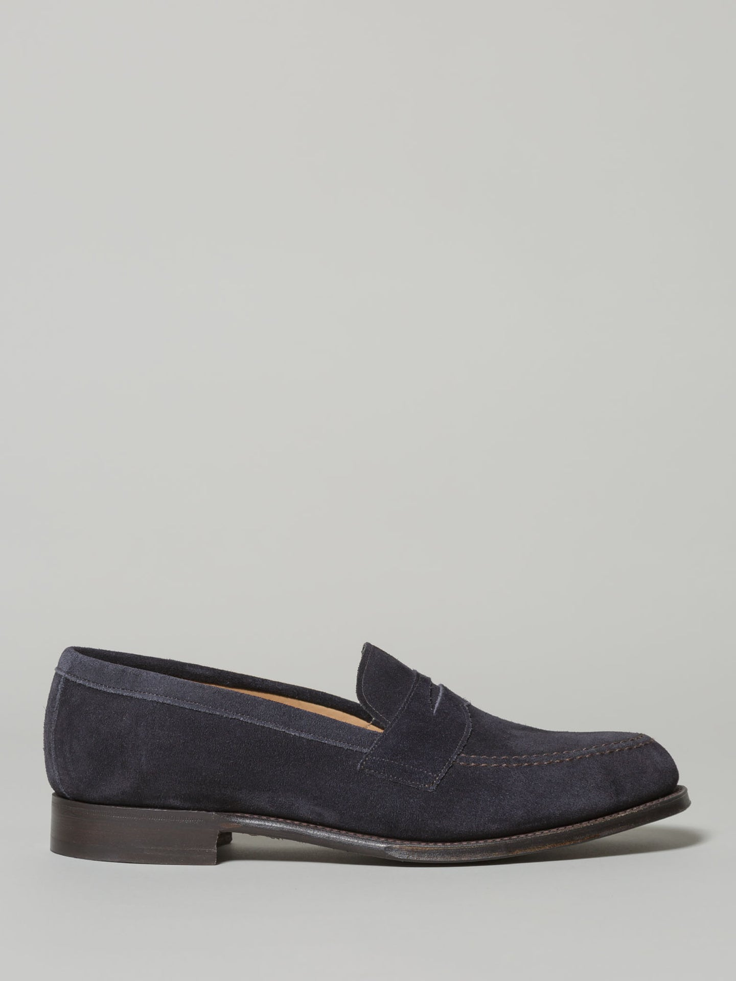 Cheaney Cannon Navy Loafer (Suede)