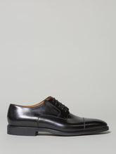 Corneliani Derby Toe Cap (Black)