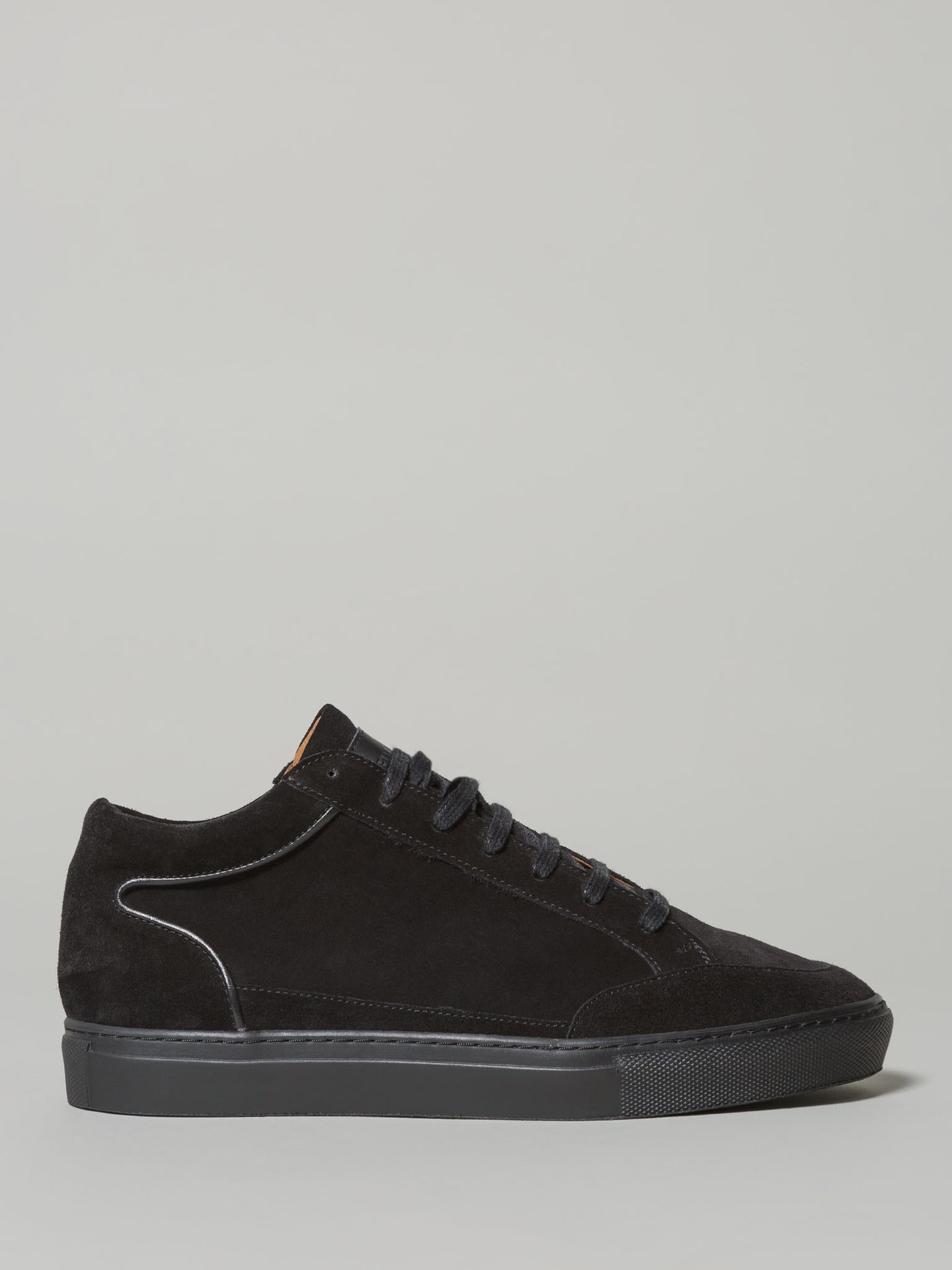 Twelvesons Ultra Mid Samo (Black Suede) - Union 22