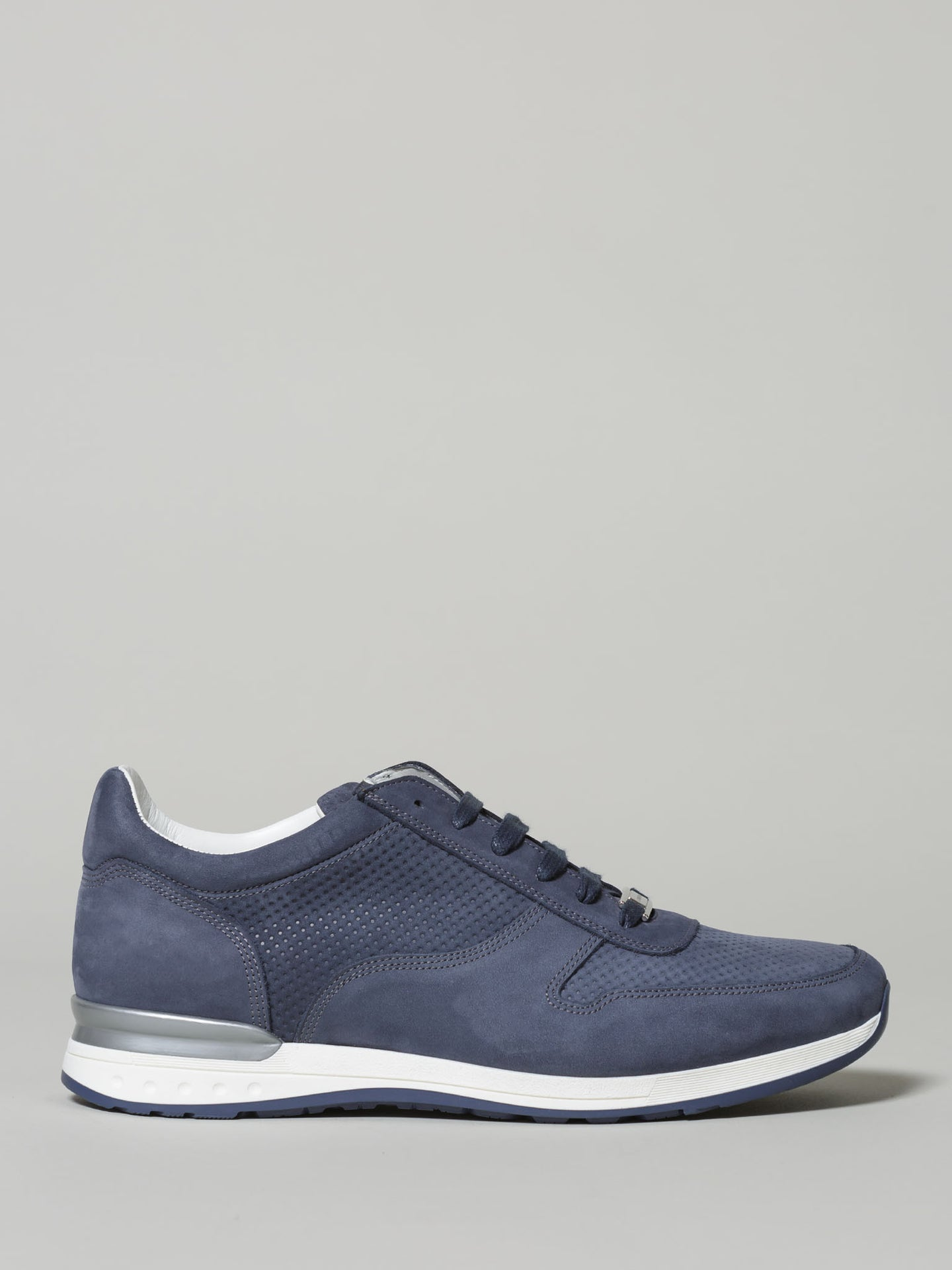 Corneliani Dress Trainer Nubuck (Blue)