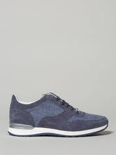 Corneliani Dress Trainer Suede (Blue)