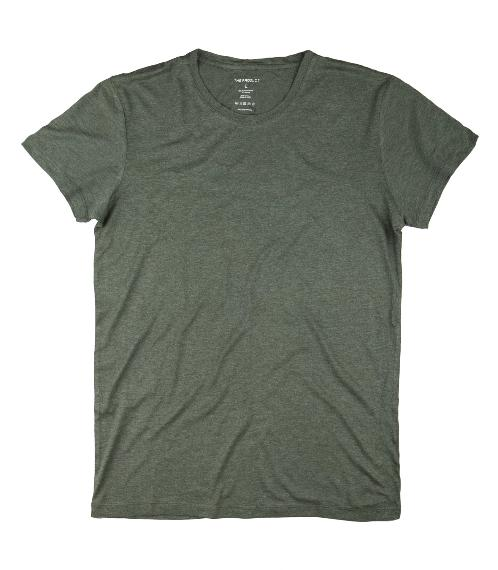 The Product Bamboo & Cotton T-Shirt (Green) - Union 22