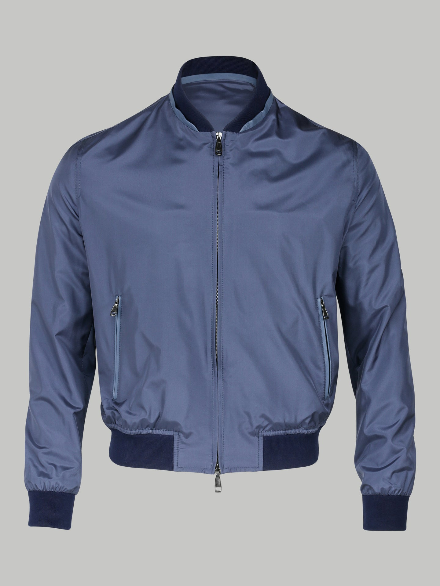 Brioni Silk Bomber (Blue) - Union 22