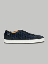 Santoni Derby Lace Up (Navy)