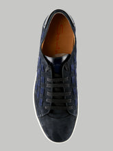 Santoni Derby Lace Up (Navy) - Union 22