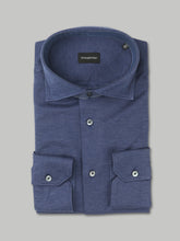 Ermenegildo Zegna Long Sleeve Shirt (Slate Blue)